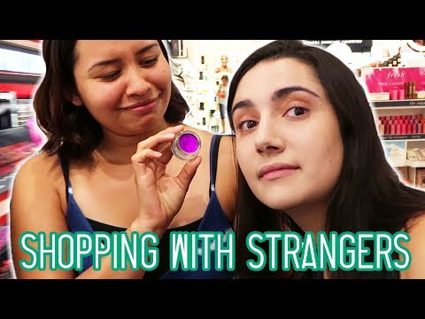 I Let Strangers Pick My Makeup