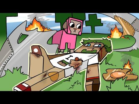 01. Крушение КОСМИЧЕСКОГО корабля - Lp.Выживший (Minecraft Let's Play)