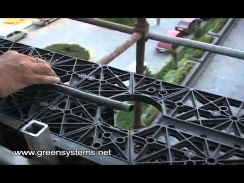 Green Wall Installation by Life Green Systems at Hotel Hyatt, New Delhi