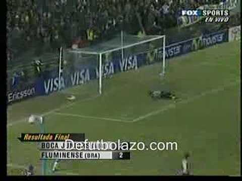 Video Juan Roman Riquelme Boca Juniors 2-2 Fluminense