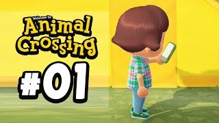 FIRST TIME PLAYING!!   Animal Crossing New Horizons (Episode 1) by Tyranitar Tube