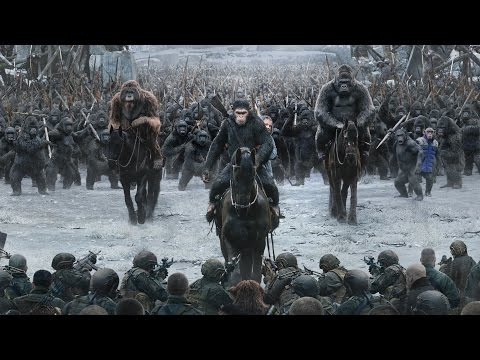 War For The Planet Of The Apes ALL TRAILERS
