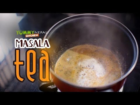 (Masala Tea | Easy Recipe | Yummy Nepali Kitchen - Duration: 2 minutes, 25 seconds.)