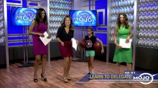 9-year old Jaden Newman shows off her basketball skills!