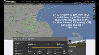 """Video [REAL ATC] LUFTHANSA A350 - """"FUEL LOW SITUATION"""" in Boston - """"We have to declare Emergency"""" MP3, 3GP, MP4, WEBM, AVI, FLV Juni 2019"""
