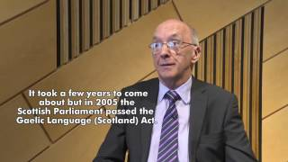 Iain Macleòid tells how he campaigned successfully for Gaelic to be formally recognised, resulting in the Gaelic Language (Scotland) Act in 2005. Iain's story ...