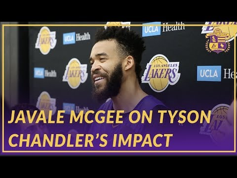 Video: Lakers Interview: JaVale McGee Talks About Tyson's Impact On the Team So Far