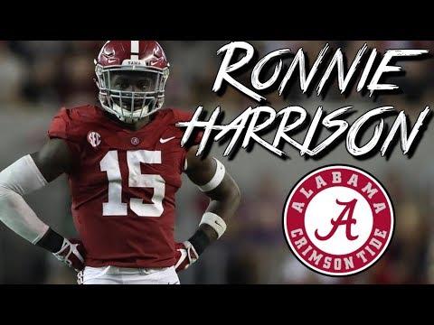 "Ronnie Harrison    ""HUNCHO"" ᴴᴰ    Official Alabama Highlights"