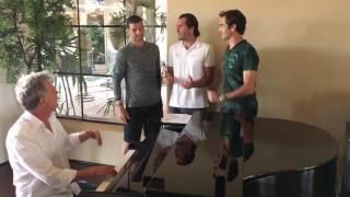 (Credit: Roger Federer Twitter) Follow us on : Roger Federer : https://twitter.com/VIKI_RF...