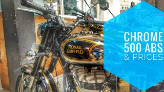 6. RE Classic Chrome 500 ABS - Detailed Walkaround and Price #royalenfield #classicabs #chrome500