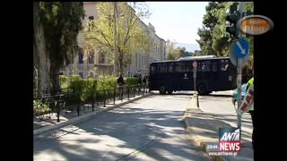 Η Μεγαλειώδες συγκέντρωση των Μεταλλωρύχων στην Αθήνα μέσα από την TV