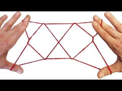 String Tricks! How To Make A 2 Diamond Jacobs Ladder