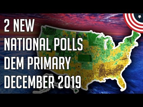 How's Bloomberg's Ad Buy Impacting The Race? 2 New Democratic Primary Polls! December 2019