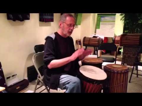 Djembe Technique – All Tones Exercise http://www.drumconnection.com
