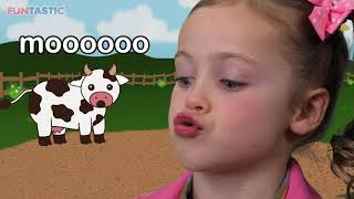 Video Moo Cow | Learn Animal Sounds! MP3, 3GP, MP4, WEBM, AVI, FLV September 2018
