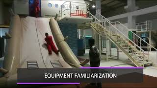 Raft Drill Practical Training At Alroz Aviation
