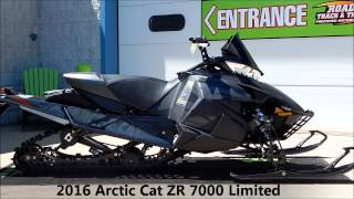 8. 2016 Arctic Cat ZR 7000 Limited 137