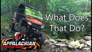 5. 4 Things You Might Not Know About Your Honda Pioneer 500