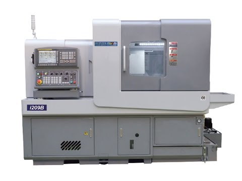 Swiss Turn Machine with B axis