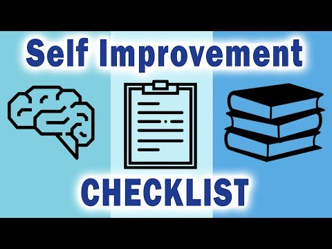 2018 Self Improvement Checklist - 7 Growth-Inspiring Ideas And Tactics