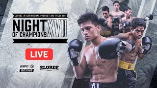 LIVE: Night of Champions | ESPN5 Boxing