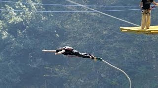 Rishikesh India  city images : Bungee Jumping in Rishikesh India - Jumpin Heights - Bungee Jump - Rishikesh Tourism