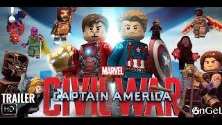 Video LEGO Captain America CIVIL WAR Trailer download in MP3, 3GP, MP4, WEBM, AVI, FLV January 2017