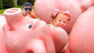 Nastya و papa أفضل أشرطة الفيديو - مضحك مسرحية التظاهر التحويل البرمجي
