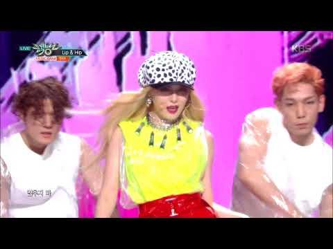 뮤직뱅크 Music Bank - Lip&Hip - 현아 (Lip&Hip - HyunA).20171208