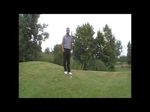 Chicago Golf Lessons – How to chip off a downslope