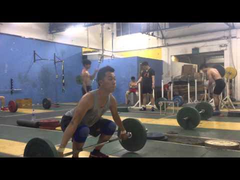 Snatch High pull (140724) - 40KG 2 (видео)