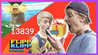Det er ett år siden Pokémon Go kom ut og Jonas og Herman Dahl vil se om det fortsatt er spennende. Det er jubileum så Jonas skal unne seg en liten gave fra ...