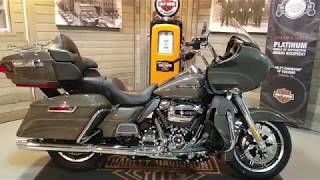 8. 2018 Harley-Davidson Road Glide Ultra FLTRU-industrial gray.
