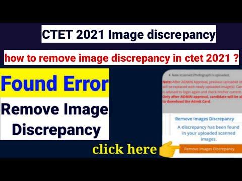 Ctet Photo Discrepancy uploaded found  problem|ctet image correction problem