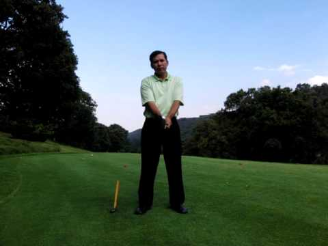 GOLF LESSONS – GRIP – POSITION OF THE RIGHT HAND