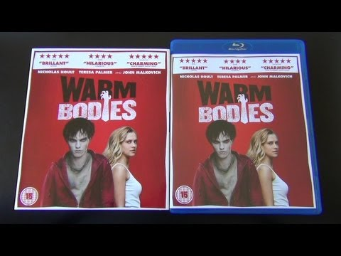 Warm Bodies Blu-Ray Unboxing