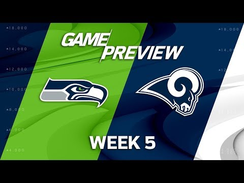 Video: Seattle Seahawks vs. Los Angeles Rams | Week 5 Game Preview | Move the Sticks