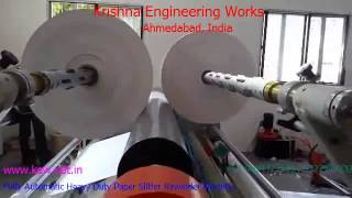 Fully Automatic Extra Heavy Duty Paper Slitter – Krishna Engineering Works