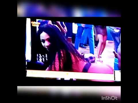 Bbnaija: Mercy twerking in a sexy dress and the guy can't handle it
