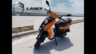 3. Lance Power Sports Cabo Scooter 2018 version. - Fast and Fun! 50cc - goes 40 MPH stock
