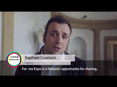 Ambassador Expo Milano 2015 Raphael Gualazzi eng