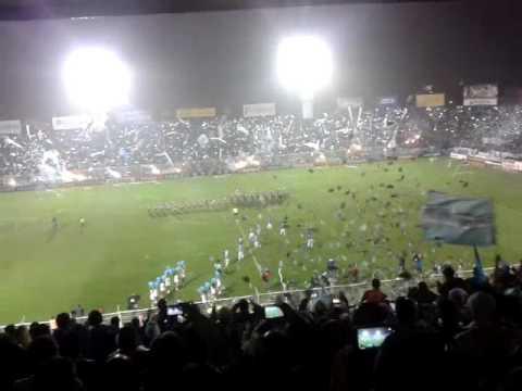 Recibimiento de Atletico contra SanMartin (SJ ) - La Inimitable - Atlético Tucumán