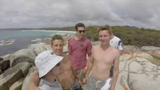 Scamander Australia  City new picture : East Coast Tasmania, Bay of Fires, Scamander bridge jump, wineglass bay, lagoon bay