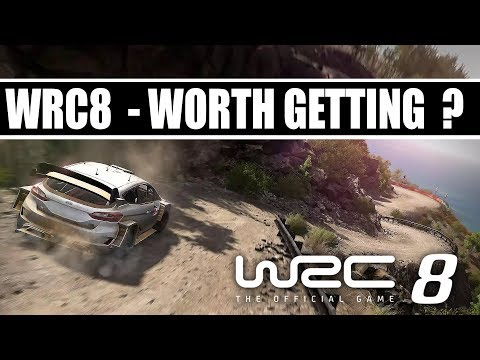 WRC 8 The Official Game - Is it Worth Getting ?