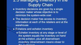 Inventory Management And Risk Pooling Part 4