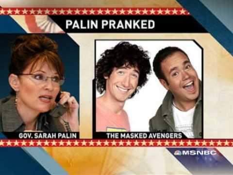 Sarah Palin, víctima de una broma haciendose pasar por Nicolás Sarkozy