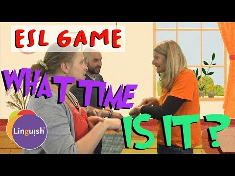 Linguish ESL Games // What Time Is It? // TS48