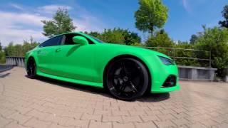 Heute bin ich bei Daniel Abt und lasse meinen Audi Rs7 tunen und danach testen wir wie schnell er von 0 auf 100 km/h ist!