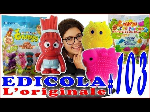 EDICOLA #103: Softy Friends Grungy & Morbidissimi Amici - PACCO con 7 bustine by Giulia Guerra (видео)