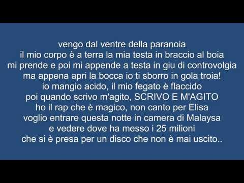, title : '[LYRICS/TESTO]Bassi Maestro feat Fabri Fibra-Succhiateci Ancora Il Cazzo'